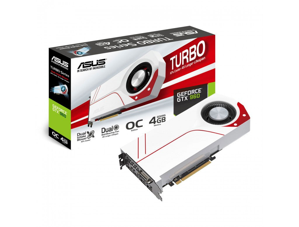 ASUS Turbo NVIDIA GeForce GTX 960 2GB Graphics Card