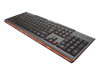 Cougar 200K Gaming Keyboard - Front Right Angled