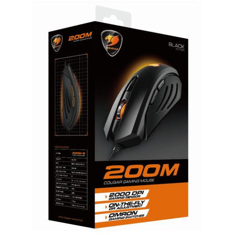 Cougar 200M Gaming Mouse - Boxed