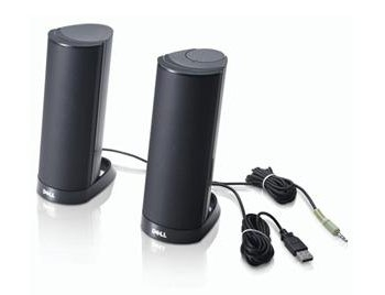 Dell AX210CR Stereo USB Speakers