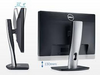 Dell P2213 22 inch monitor Side and Back