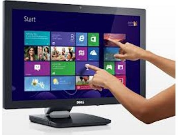 Dell S2340T 23 inch Touchscreen Monitor - Seller Refurbished