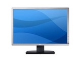 Dell U2412M Silver Monitor Main On