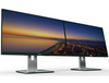 Dell U2414H Ultrasharp 24 Inch Monitor Dual Screen Example