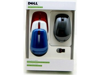 Dell Wireless Mouse with Interchangeable Covers