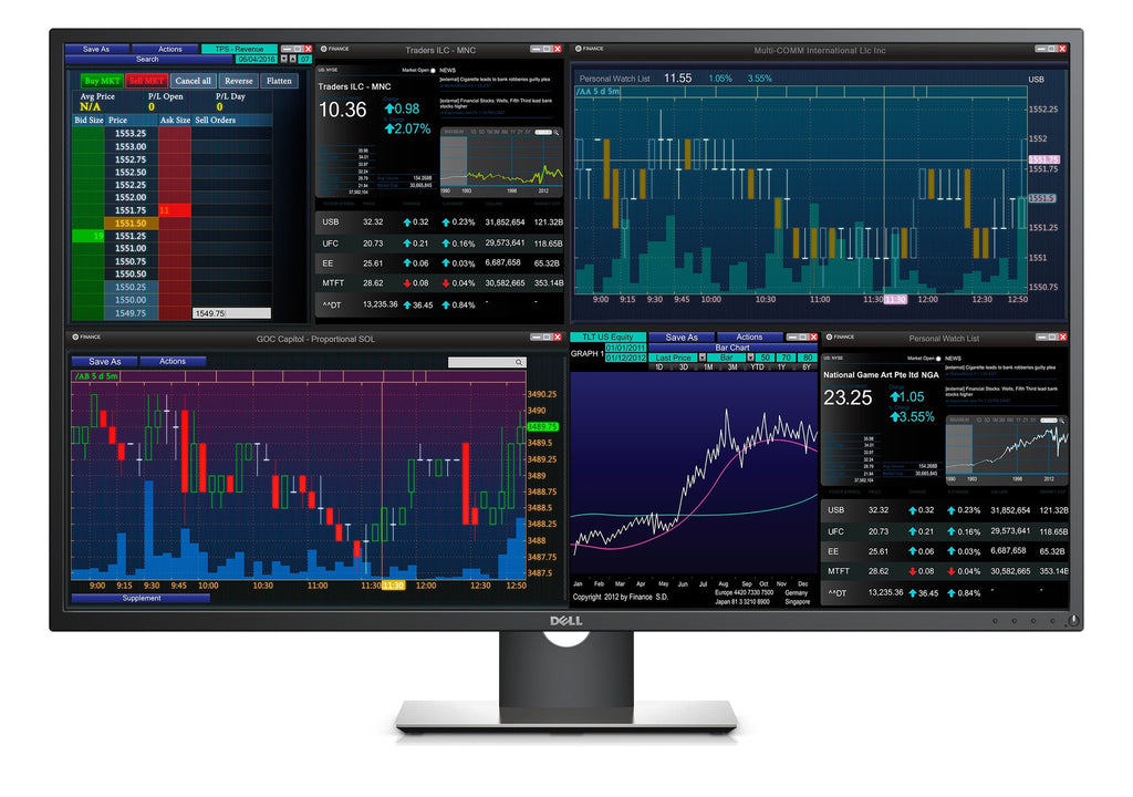 Dell P4317Q 4K 43 Inch Monitor for Multi-client Set Up