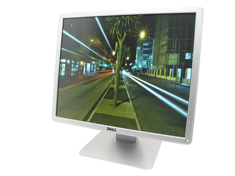 Dell P1914S Silver Cheap 19 inch Monitor Angled