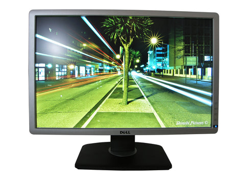 Dell P2213 Professional Silver 22 Inch Monitor Main On