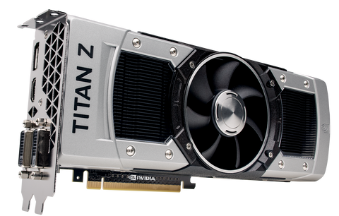 NVIDIA GeForce GTX Titan Z 12GB GDDR5 Gaming Graphics Card Dell OEM Image
