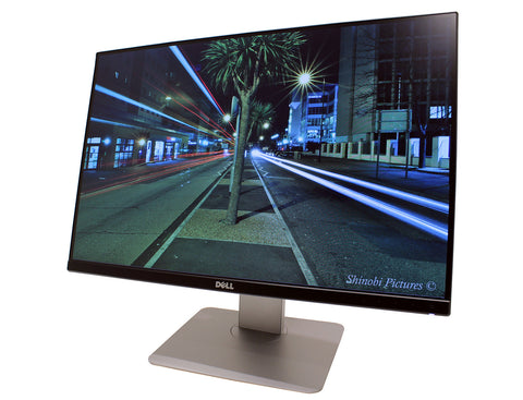 Dell U2415 Ultrasharp HD 24 Inch Monitor - Seller Refurbished Angled On