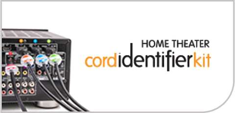 Home Theater Cord Identifier Kit