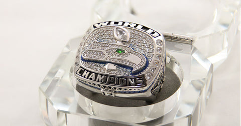 Personalized Replica Seahawks Super Bowl Ring