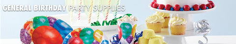 General Birthday Party Supplies
