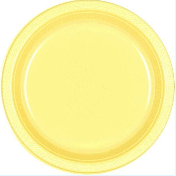 Light Yellow Solid Color Tableware