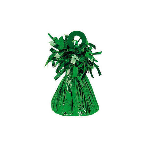 Green Small Foil Balloon Weight