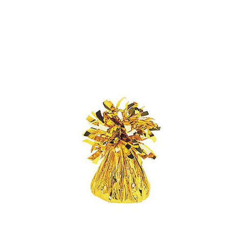 Gold Small Foil Balloon Weight