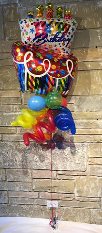 Happy Birthday Balloon Bouquet #1