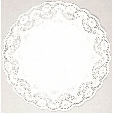 "10"" White Round Doilies (10 Ct.)"