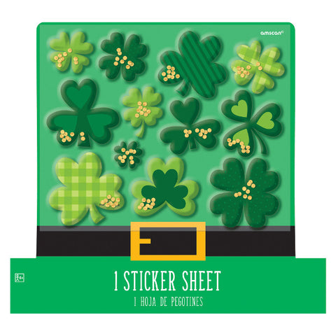 St. Patrick's Day Shaker Stickers