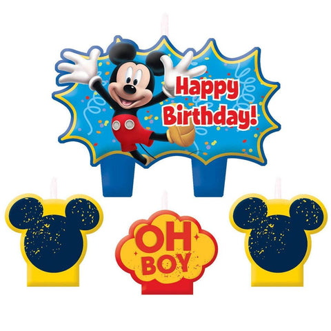 Disney's Mickey Mouse Clubhouse Birthday Candle Set (4 Pc.)