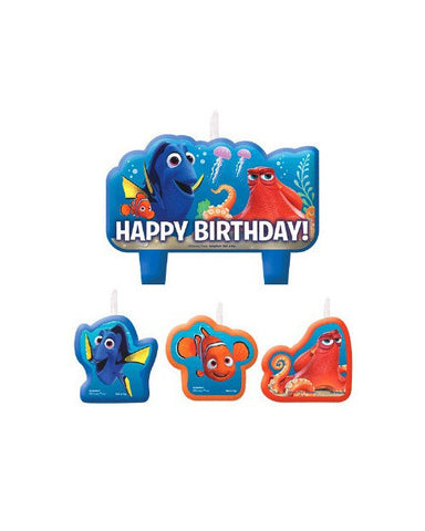 Finding Dory Birthday Candle Set (4 Pc.)