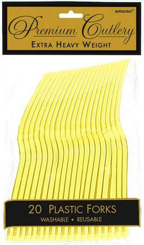 Light Yellow 20ct Fork HD