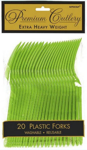 Kiwi Green 20ct Fork HD