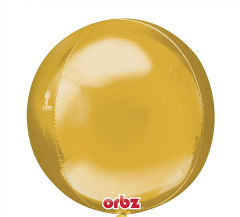 "Gold Orb 16"" Foil Balloon"