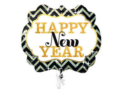 Happy New Year Marquee Foil Balloon