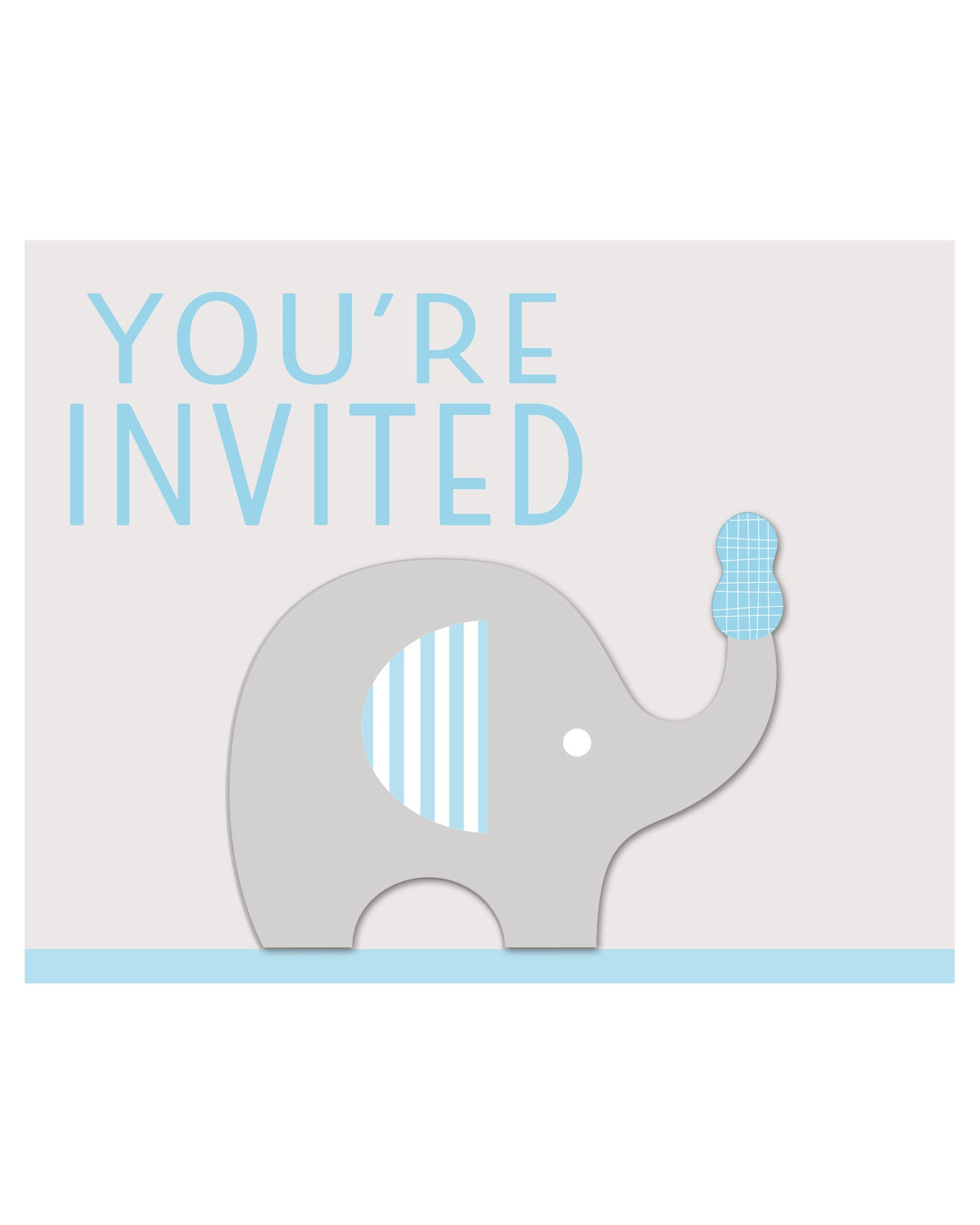 Little Peanut Boy Baby Shower Folded Invitation Cards (8 Ct.) – Card ...