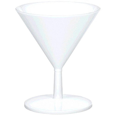 Martini Mini Glasses White