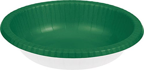Paper Bowl, 20 oz, Emerald Green