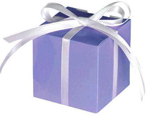 Small Paper Favor Boxes, Lilac (100 Ct.)