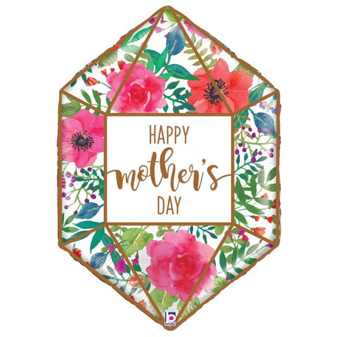 "30"" mother's day terrarium mylar balloon foil"