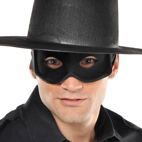 THIEF MASK BLACK LONE RANGER OR ZORRO