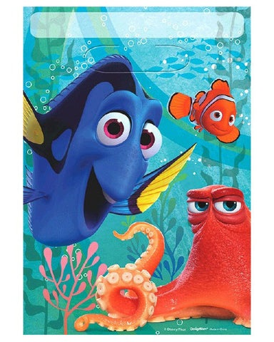 Finding Dory Folded Loot Bags (8 Ct.)