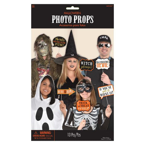 Halloween Speech Bubble Photo Prop Kit (13 Pc. Set)