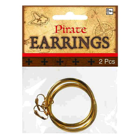 HOOP EARRINGS PIRATE WENCH MAIDEN