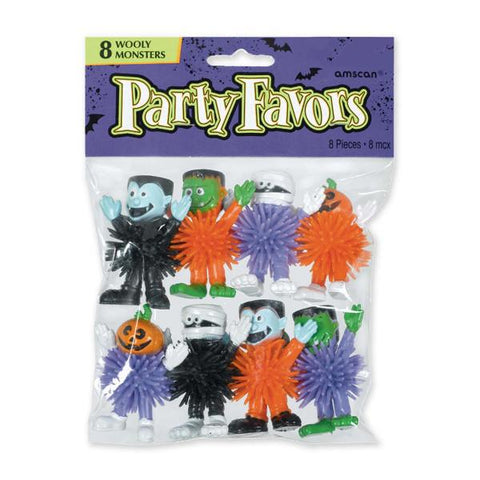 Halloween Creature Koosh Ball Toys (8 Ct.)