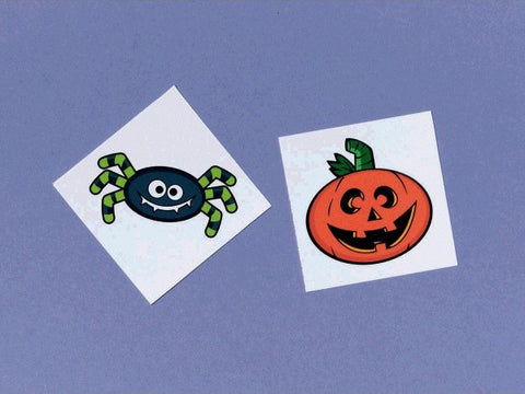 Friendly Frights Halloween Temporary Tattoo Party Favors (24 Ct.)