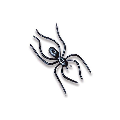 Clip On Plastic Halloween Spiders (24 Ct.)