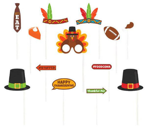 Thanksgiving Photo Prop Kit (13 Pc.)