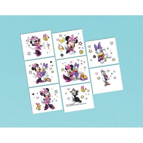 Minnie Mouse Happy Helpers Temporary Tattoos (8 Ct.)