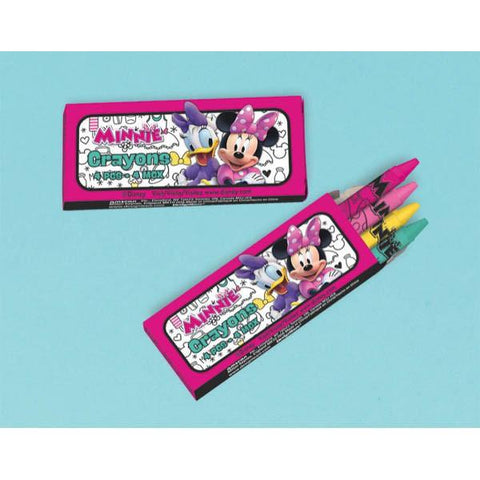 Minnie Mouse Happy Helpers Packaged Crayons (12 Ct.)