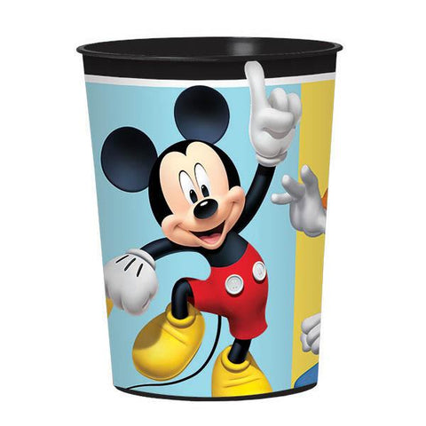 Mickey on the Go 16 Oz. Plastic Favor Cup