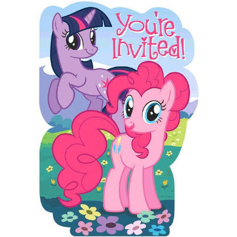 My Little Pony: Friendship is Magic Invitations (8 Ct.)