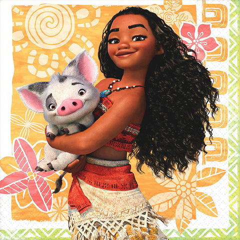 Disney's Moana Beverage Napkins (16 Ct,)