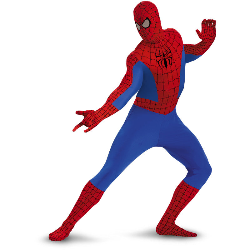 Spider-Man - Adult Unisex Spiderman Full-Body Costume  sc 1 st  Card u0026 Party Giant & Spider-Man - Adult Unisex Spiderman Full-Body Costume u2013 Card u0026 Party ...
