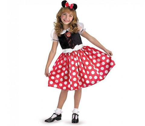 Minnie Mouse - Girl's Costume