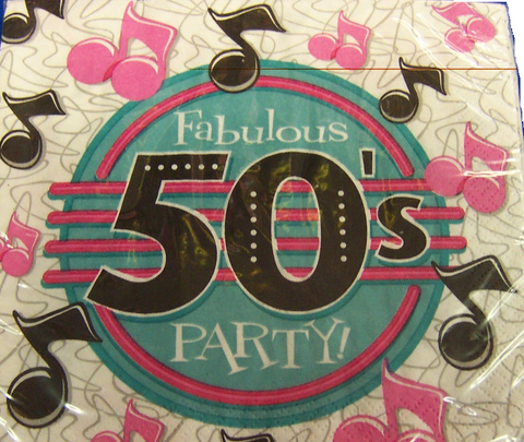 Decades 50'S Lunch Fab Party 18Ct